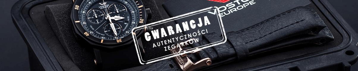Gwarancja autentyczności zegarków