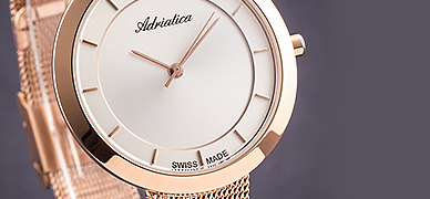Największy wybór zegarków damskich: Swatch, Tissot, Fossil, Lorus, Certina, Guess, Casio, Atlantic, Lacoste, Adriatica