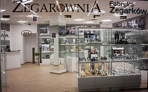 Salon Zegarownia.pl w Warszawie
