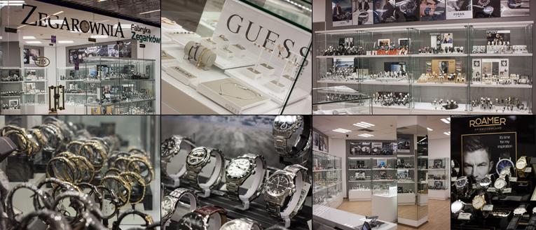 sklep stacjonarny Zegarownia z zegarkami w Warszawie