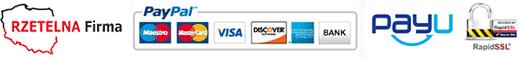 Bezpieczne zakupy z PayPal, PayU i RapidSSL