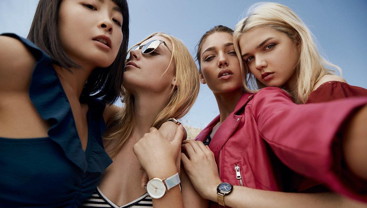 Zegarek młodzieżowy dziewczyny baner