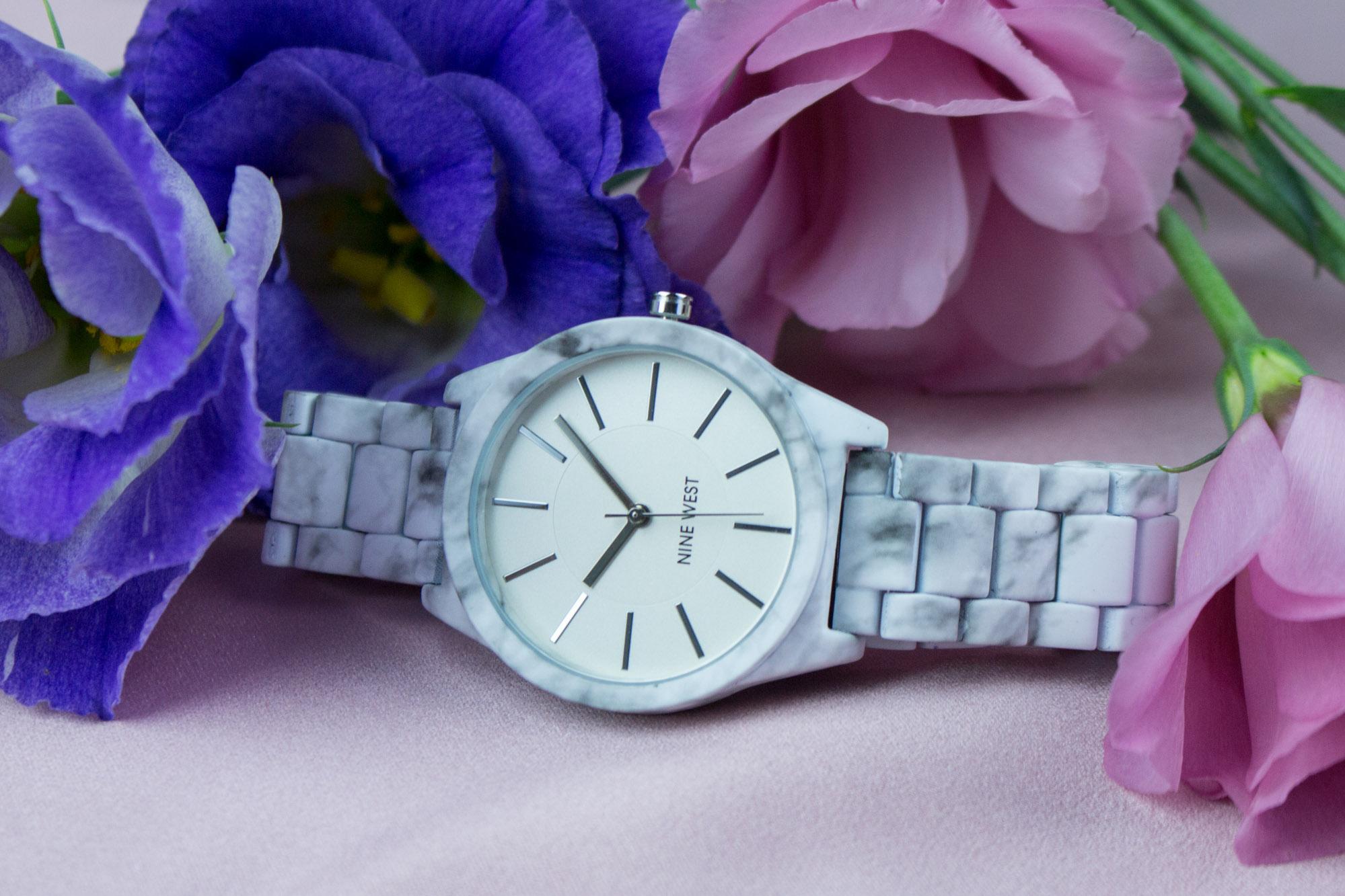 Nine West zegarek srebrny