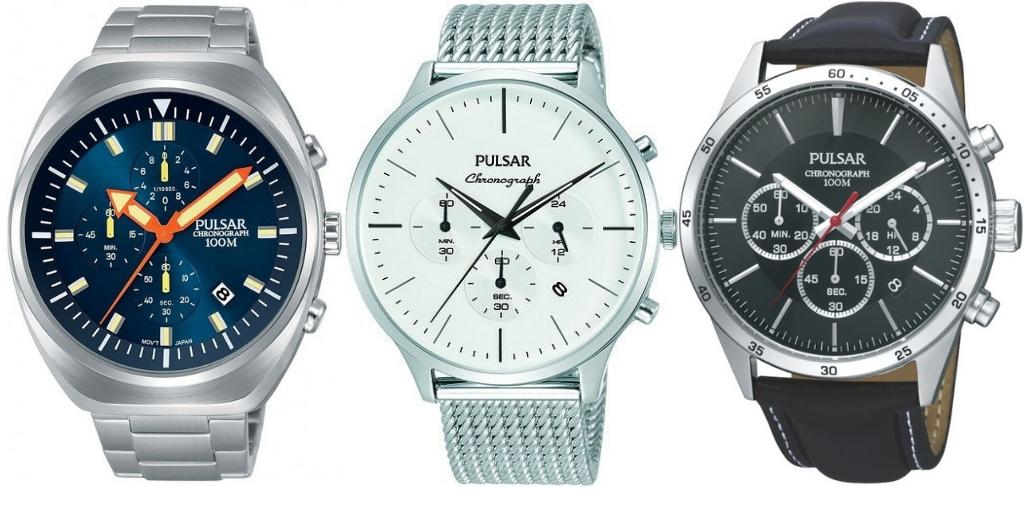 zegarki Pulsar seria Chronograph