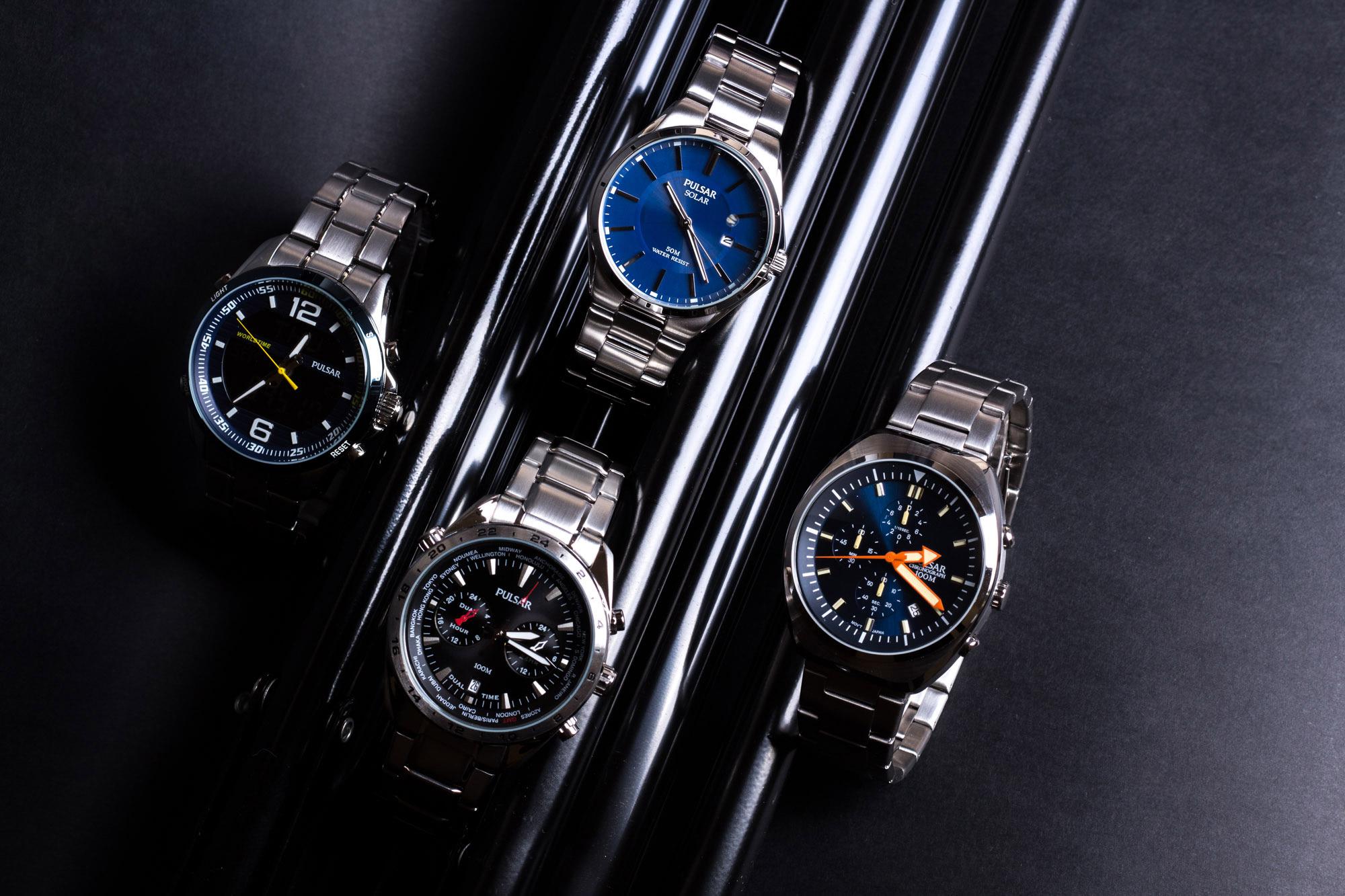zegarki Pulsar zdjęcie zbiorowe