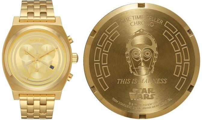Nixon Time Teller Chrono Star Wars C-3PO A972SW2378