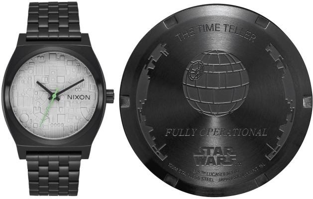 Nixon Time Teller Star Wars Death Star A045SW2383