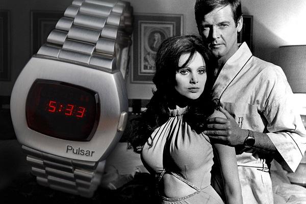 Zegarek Pulsar w filmie z Jamesem Bondem