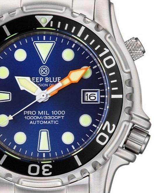 Zegarek Deep Blue Pro Mil 1000m Autimatic