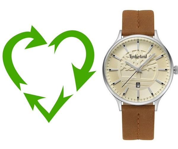 Zegarek męski Timberland, ekologia