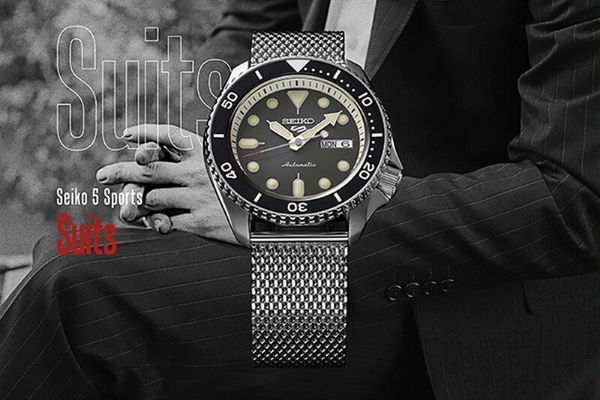 Seiko 5 Sports Suits Style Automatic SRPD73K1