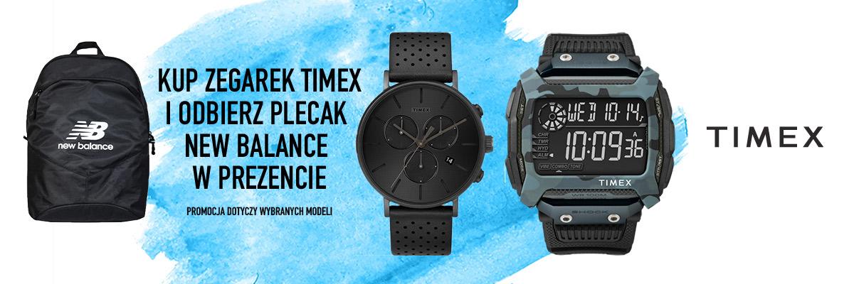 Promocja Timex + plecak New Balance